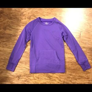 Purple Nike sweatshirt! •Like New•